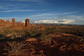 Timelapse de Balanced Rock dans Arches National Park